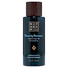 Buy Rituals Heavenly Hammam Revitalising Bath Oil, 100ml Online at johnlewis.com