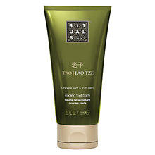 Buy Rituals Tao Lao Tze Cooling Foot Balm, 75ml Online at johnlewis.com