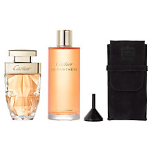 Buy Cartier La Panthere Eau de Parfum Purse Spray & Refill Online at johnlewis.com