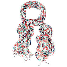 Buy White Stuff Butterfly Print Scarf, Multi Online at johnlewis.com