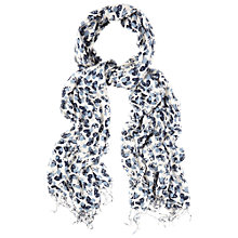 Buy White Stuff Moth Spot Print Scarf, Off White Online at johnlewis.com