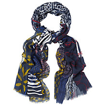 Buy White Stuff Collage Print Scarf, Multi Online at johnlewis.com