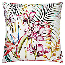 Buy Harlequin Paradise Cushion, Flamingo Online at johnlewis.com