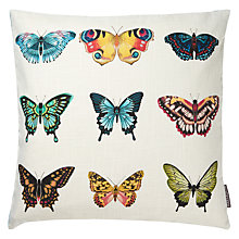 Buy Harlequin Papilio Cushion, Flamingo / Papaya Online at johnlewis.com