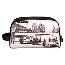 Buy John Lewis Men's Start Your Engines Toiletries Bag Online at johnlewis.com