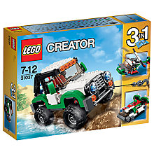 Buy LEGO Creator 3-in-1 Adventure Vehicles Online at johnlewis.com