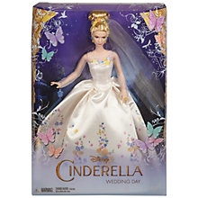Buy Disney Cinderella Wedding Day Doll Online at johnlewis.com
