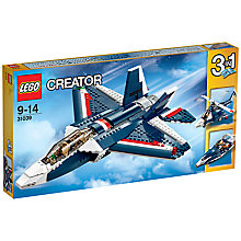 Buy LEGO Creator 3-in-1 Blue Power Jet Online at johnlewis.com