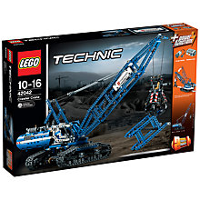 Buy LEGO Technic 42042 Crawler Crane Online at johnlewis.com