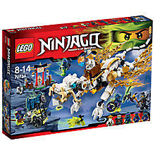 Buy LEGO Ninjago Master Wu Dragon Online at johnlewis.com