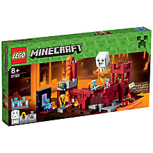 Buy LEGO Minecraft The Nether Fortress Online at johnlewis.com