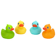 Buy John Lewis Rubber Ducks, Pack of 4 Online at johnlewis.com