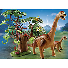 Buy Playmobil Dinos Brachiosaurus With Baby Online at johnlewis.com