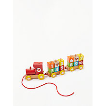 Buy John Lewis Numbers Pull-Along Train Online at johnlewis.com