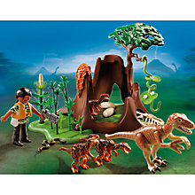 Buy Playmobil Dinos Deinonychus And Velociraptors Online at johnlewis.com
