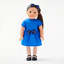 Buy John Lewis Chloe Collector's Doll, Brunette Online at johnlewis.com