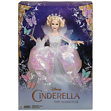 Buy Disney Cinderella Fairy Godmother / Lady Tremaine Doll Online at johnlewis.com