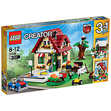 Buy LEGO Creator 3-in-1 Changing Seasons Online at johnlewis.com