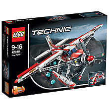 Buy LEGO Technic Fire Plane Online at johnlewis.com