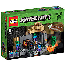 Buy LEGO Minecraft The Dungeon Online at johnlewis.com