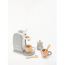 Buy John Lewis Toy Coffee Machine Online at johnlewis.com