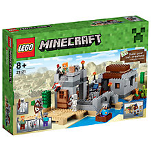 Buy LEGO Minecraft The Desert Outpost Online at johnlewis.com