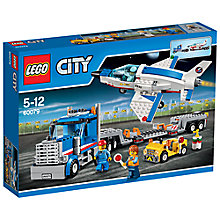 Buy LEGO City Training Jet Transporter Online at johnlewis.com