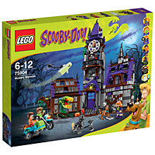 Buy LEGO Scooby-Doo Mystery Mansion Online at johnlewis.com