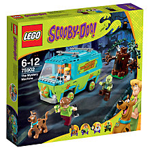 Buy LEGO Scooby-Doo The Mystery Machine Online at johnlewis.com