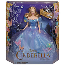 Buy Disney Cinderella Royal Ball Blue Dress Doll Online at johnlewis.com