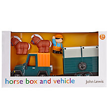 Buy John Lewis Horse Box and Vehicle Set Online at johnlewis.com