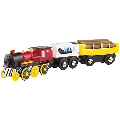 John Lewis Battery-Operated Toy Train and Cargo