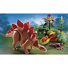 Buy Playmobil Dinos Stegosaurus Online at johnlewis.com