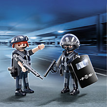 Buy Playmobil City Action Police Team Duo Pack Online at johnlewis.com