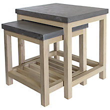 Buy Hudson Living Brooklyn Nest of 2 Tables Online at johnlewis.com