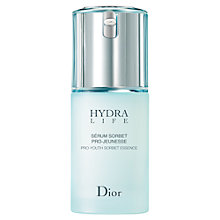 Buy Dior Hydra Life Pro-Youth Sorbet Serum, 30ml Online at johnlewis.com