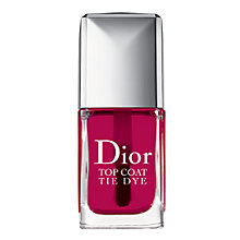 Buy Dior Vernis Tie Dye Top Coat, 869 Online at johnlewis.com