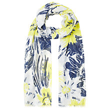 Buy Whistles Bloomsbury Print Scarf, Navy Online at johnlewis.com