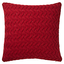 Buy John Lewis Knitted Waves Cushion Online at johnlewis.com