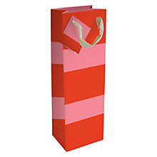 Buy Caroline Gardner Block Stripe Bottle Gift Bag Online at johnlewis.com