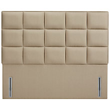 Buy John Lewis The Ultimate Collection Gloucester Headboard, Pebble Canvas, Super Kingsize Online at johnlewis.com
