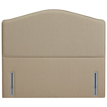 Buy John Lewis The Ultimate Collection Richmond Headboard, Pebble Canvas, Super Kingsize Online at johnlewis.com