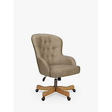Buy John Lewis Benedict Office Chair, Grey Online at johnlewis.com