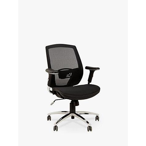 Buy John Lewis Murray Ergonomic fice Chair Black