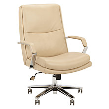 Buy John Lewis Staunton Office Chair, Cream Online at johnlewis.com
