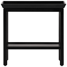 Buy Neptune Aldwych Rectangular Side Table, Warm Black Online at johnlewis.com