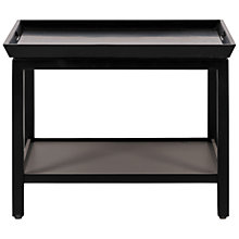 Buy Neptune Aldwych Low Side Table, Warm Black Online at johnlewis.com