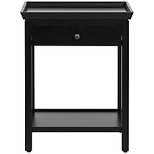 Buy Neptune Aldwych Tall Side Table, Warm Black Online at johnlewis.com