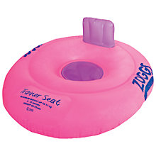 Buy Zoggs Trainer Seat, Pink Online at johnlewis.com