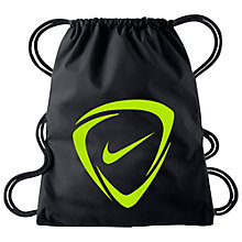 Buy Nike Mercurial 2.0 Football Drawstring Bag, Black Online at johnlewis.com